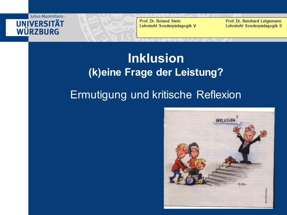 Prof. Dr. Roland Stein Prof. Dr. Reinhard Lelgemann