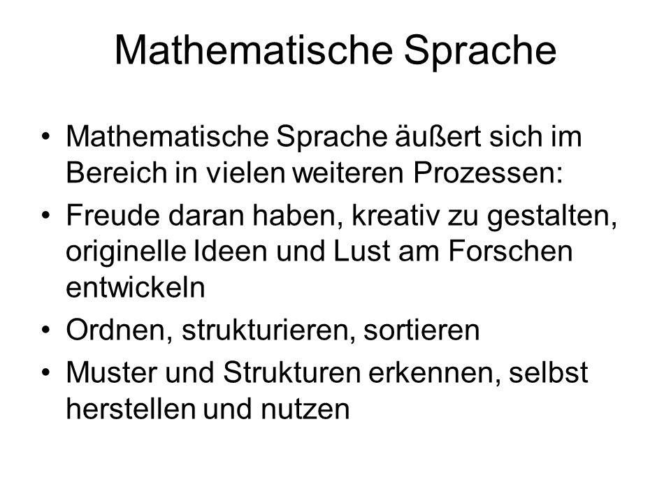 Mathematische Sprache