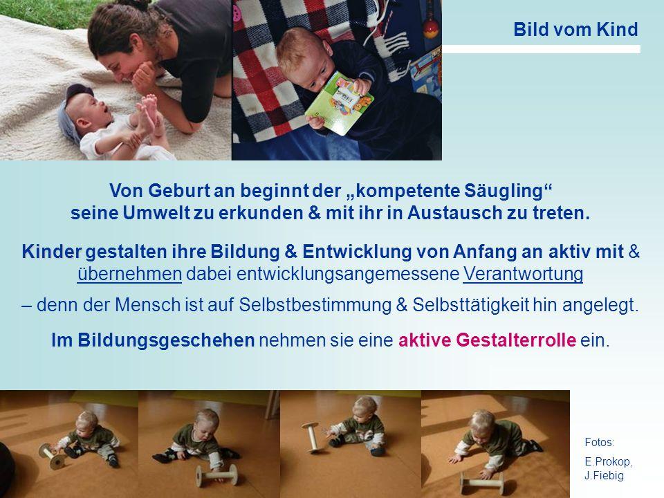 """Von Geburt an beginnt der """"kompetente Säugling"""