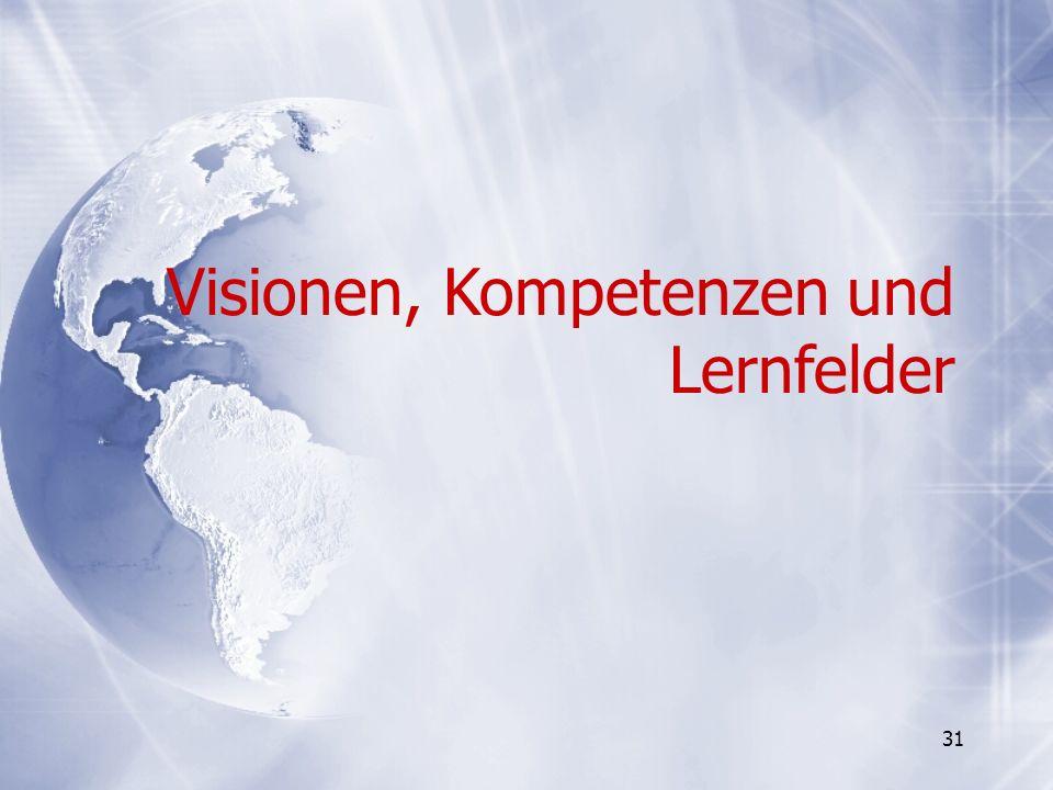 Visionen, Kompetenzen und Lernfelder
