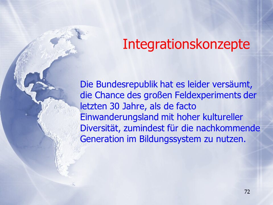 Integrationskonzepte