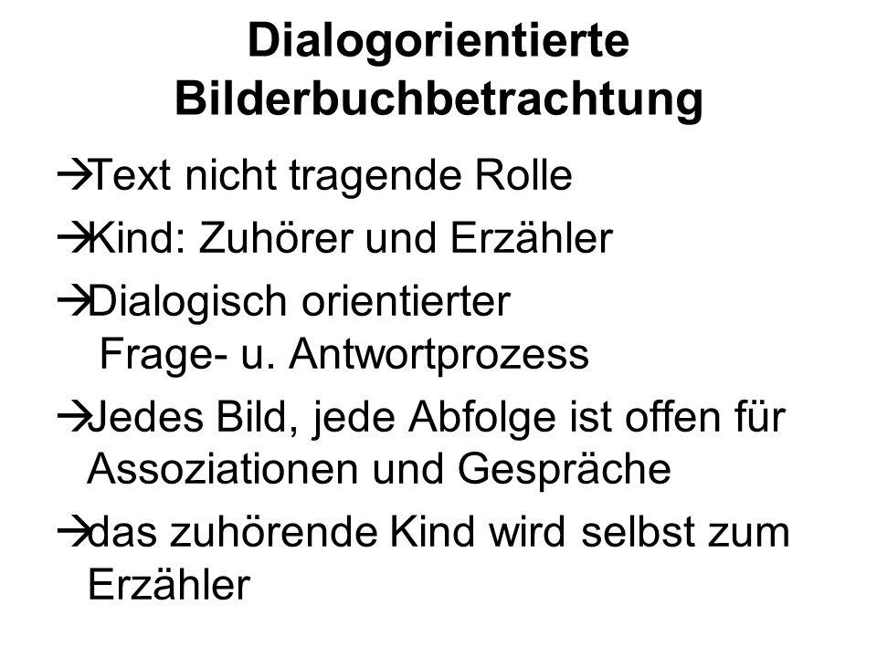 Dialogorientierte Bilderbuchbetrachtung