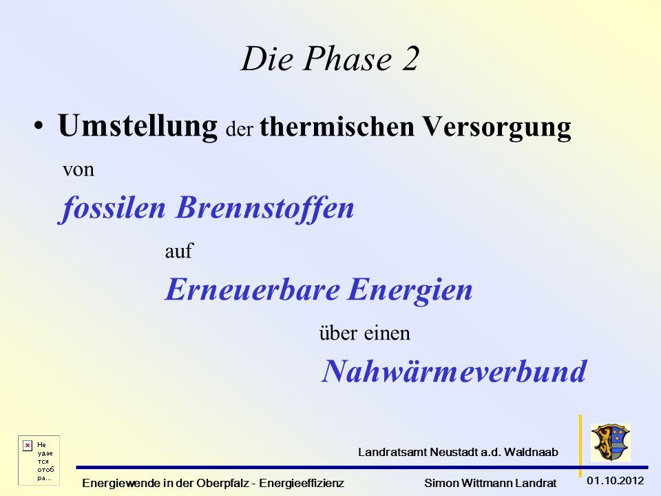 Die Phase 2 Umstellung der thermischen Versorgung Nahwärmeverbund von