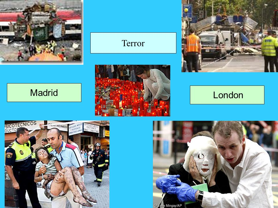 Terror Madrid London