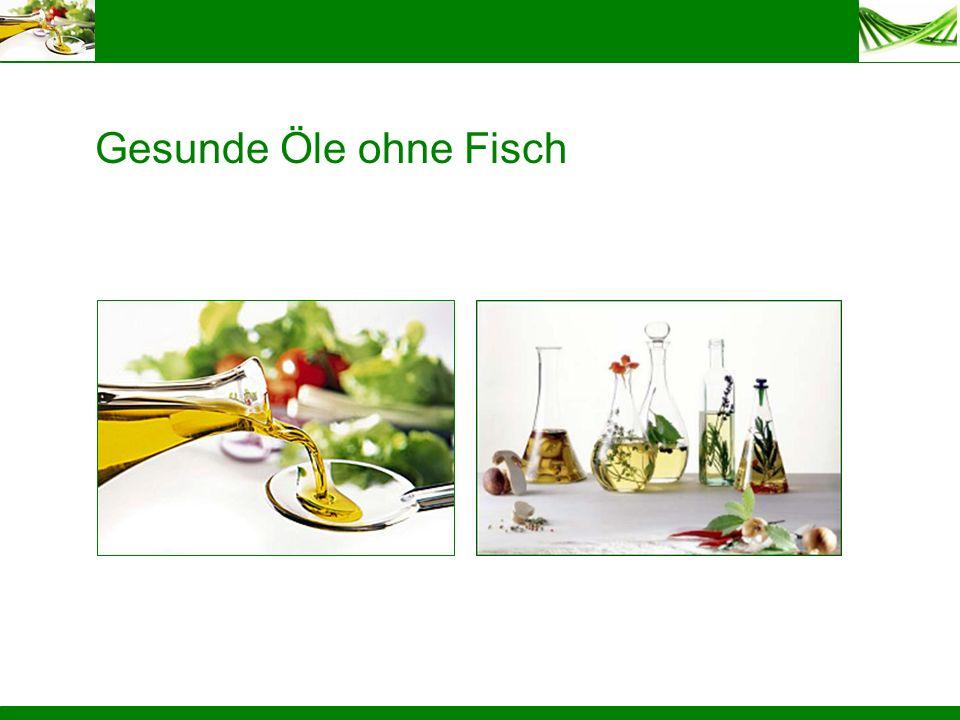 Gesunde Öle ohne Fisch