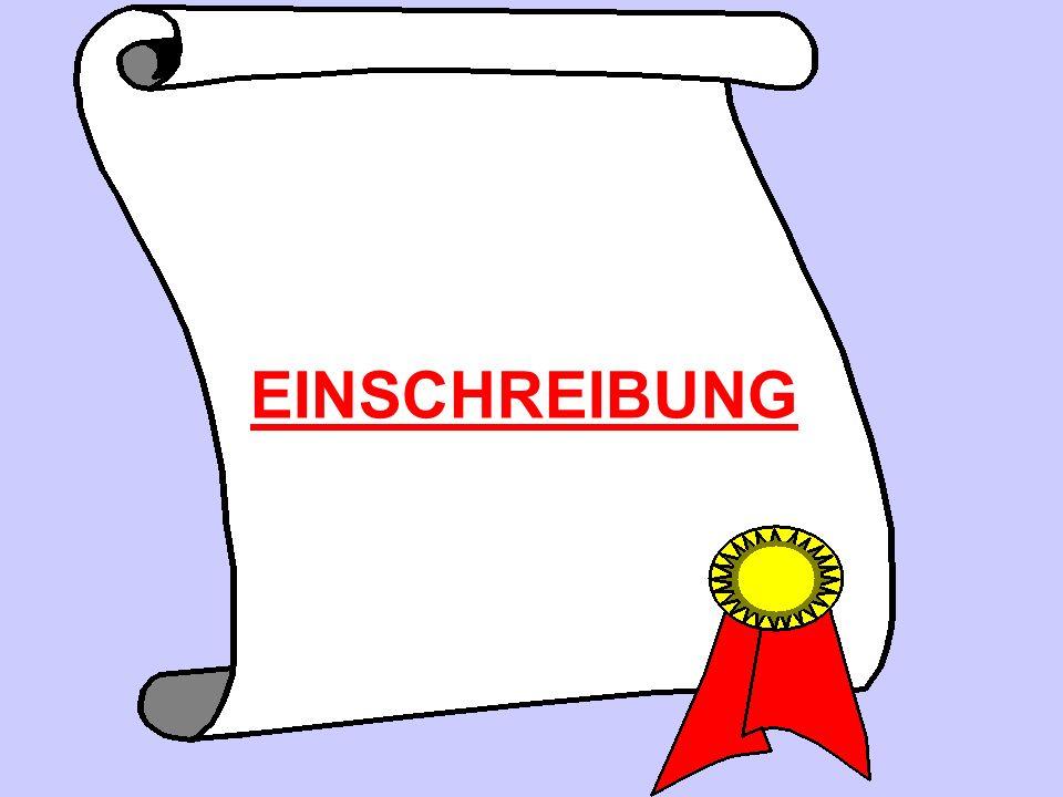 EINSCHREIBUNG