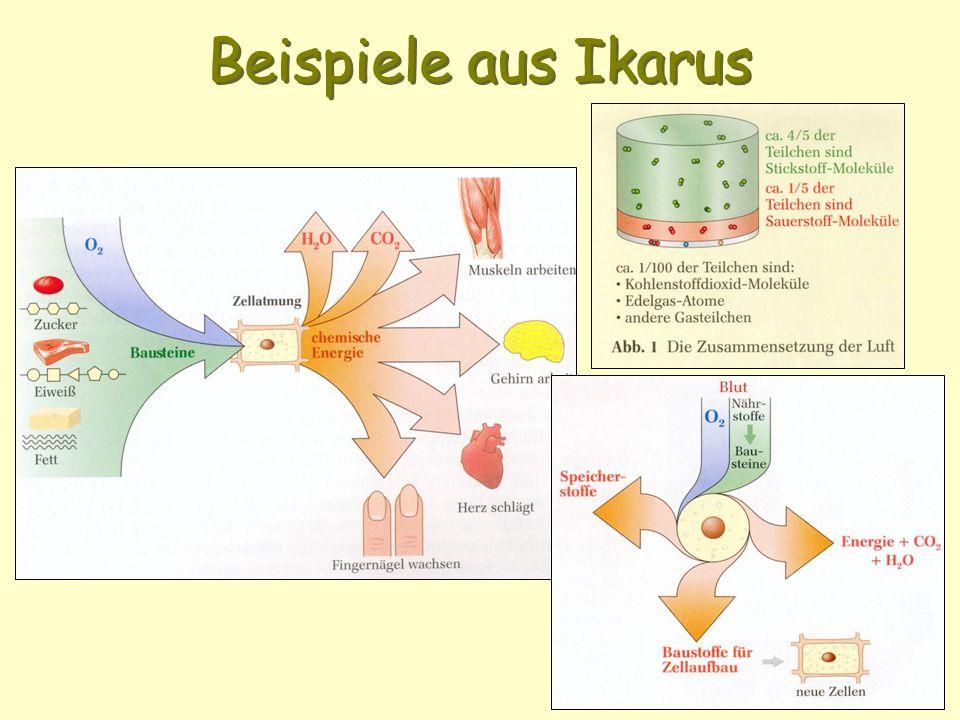 Beispiele aus Ikarus