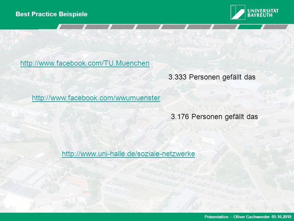 http://www.facebook.com/TU.Muenchen 3.333 Personen gefällt das
