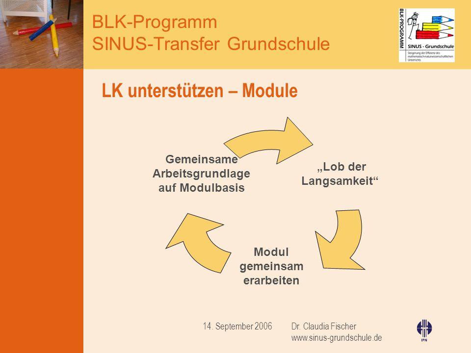 LK unterstützen – Module