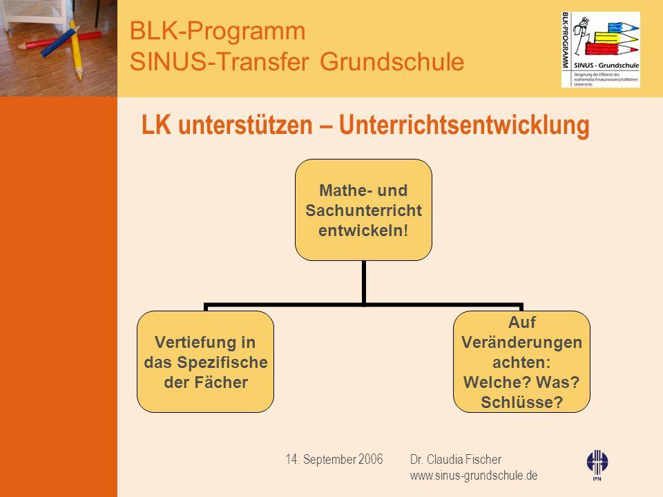 LK unterstützen – Unterrichtsentwicklung