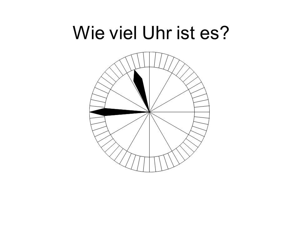 Wie viel Uhr ist es