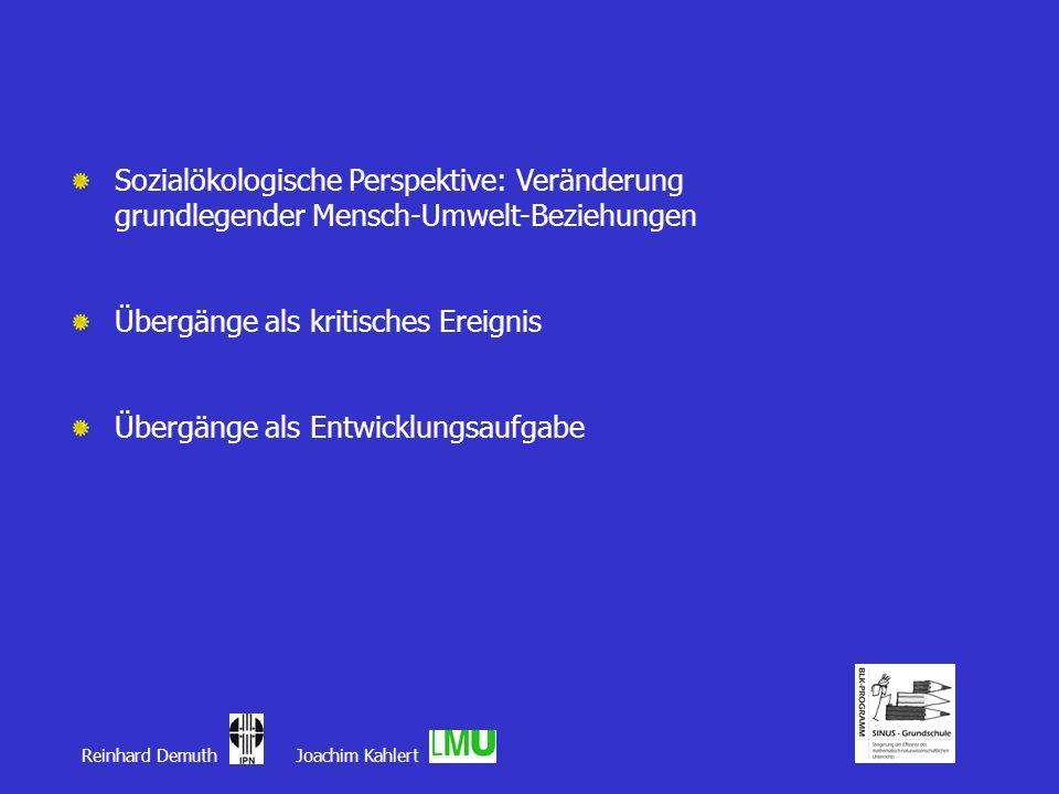 Sozialökologische Perspektive: Veränderung grundlegender Mensch-Umwelt-Beziehungen