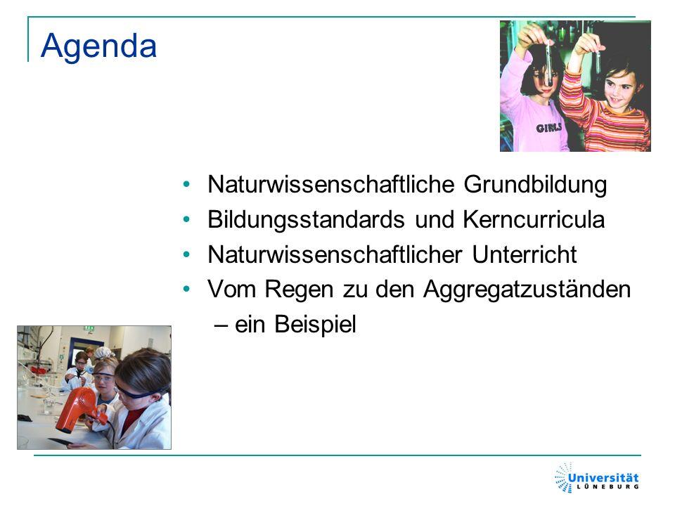 Agenda Naturwissenschaftliche Grundbildung
