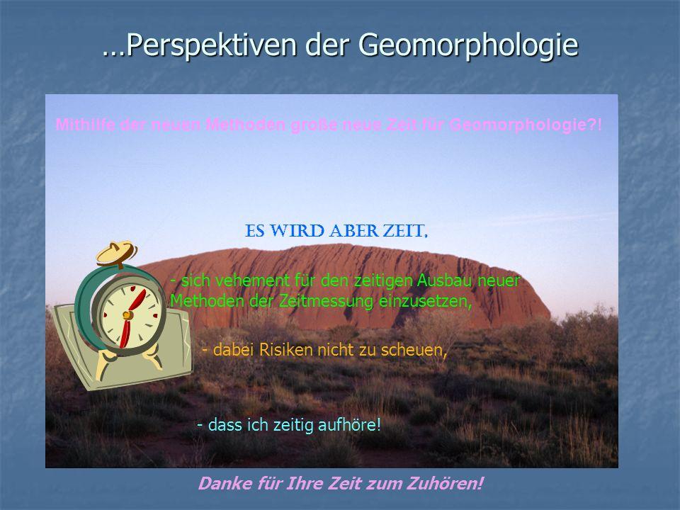 …Perspektiven der Geomorphologie