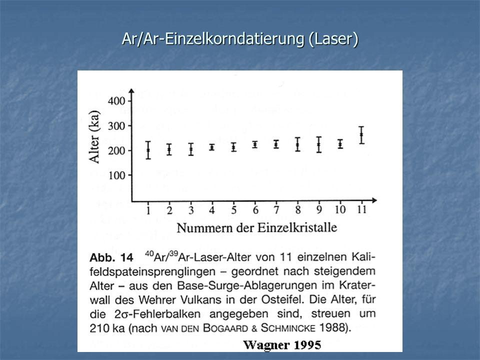 Ar/Ar-Einzelkorndatierung (Laser)