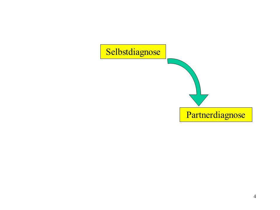 Selbstdiagnose Partnerdiagnose