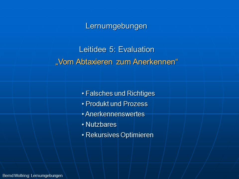 """""""Vom Abtaxieren zum Anerkennen"""