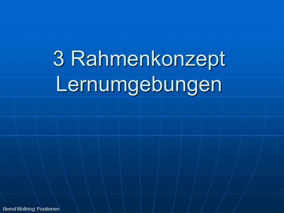 3 Rahmenkonzept Lernumgebungen