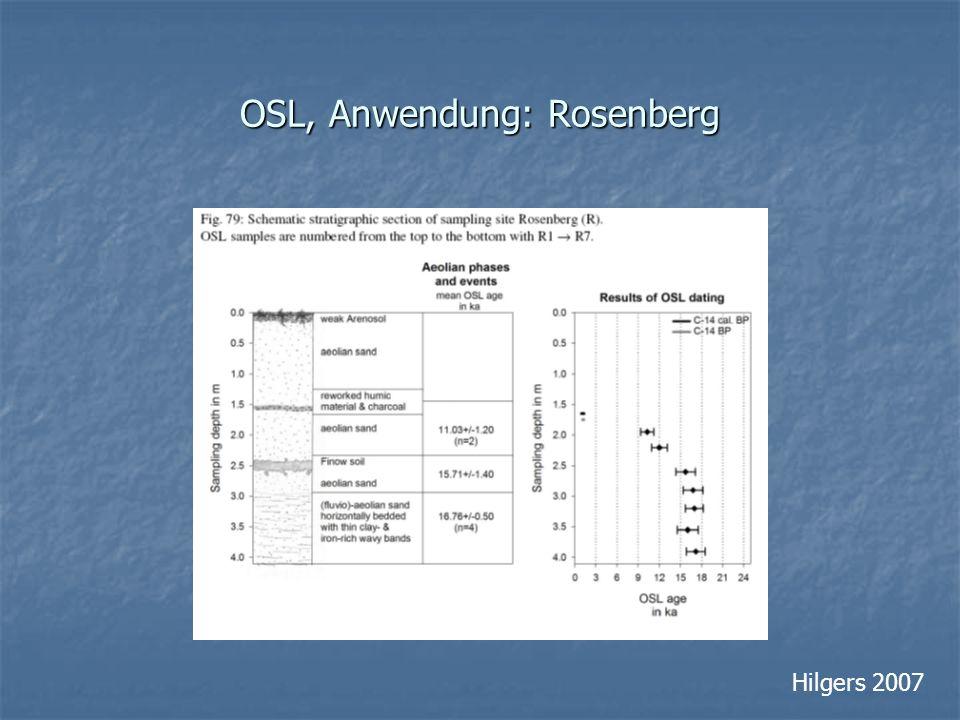 OSL, Anwendung: Rosenberg