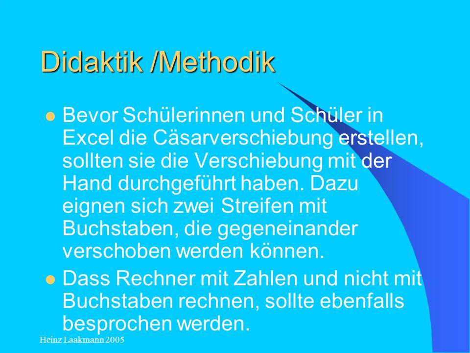 Didaktik /Methodik