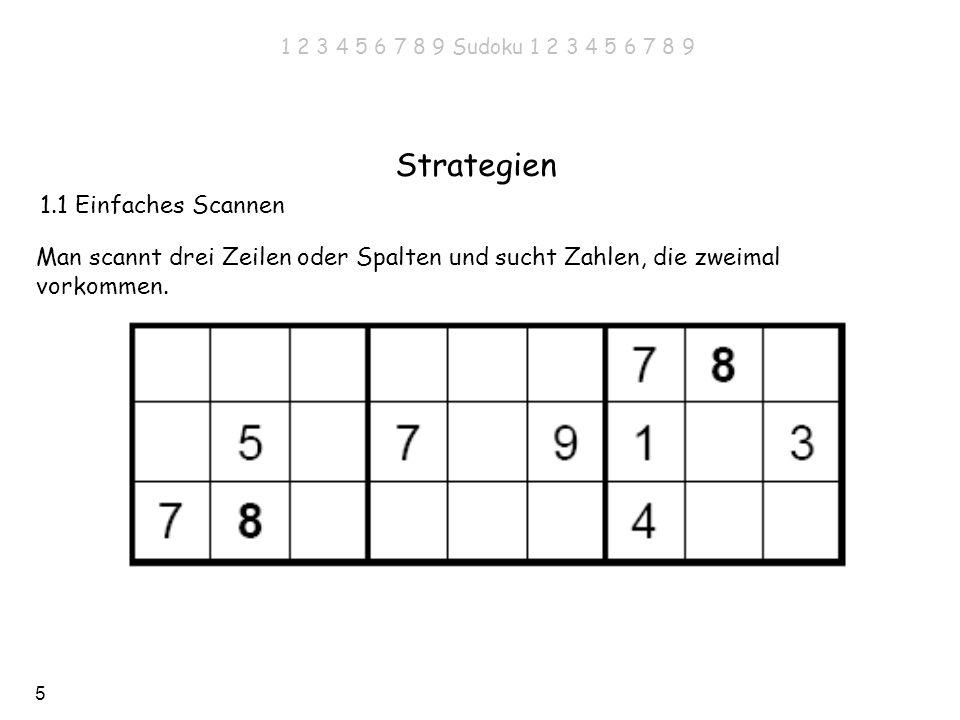 Strategien 1.1 Einfaches Scannen