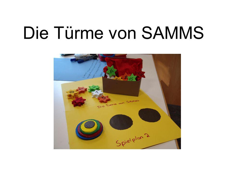 Die Türme von SAMMS