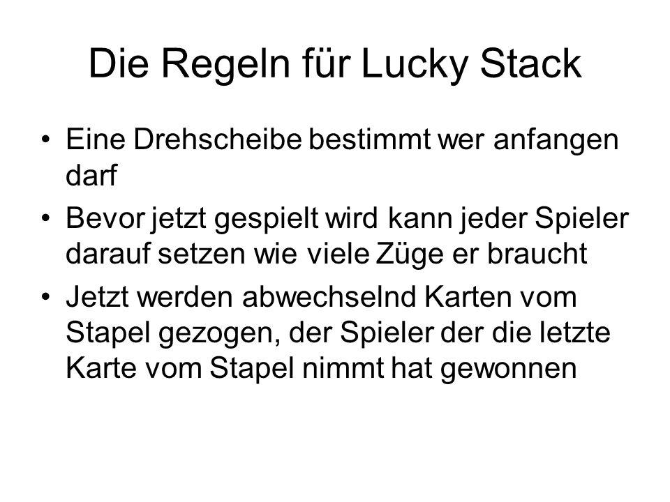 Die Regeln für Lucky Stack