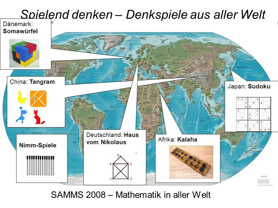 SAMMS 2008 – Mathematik in aller Welt