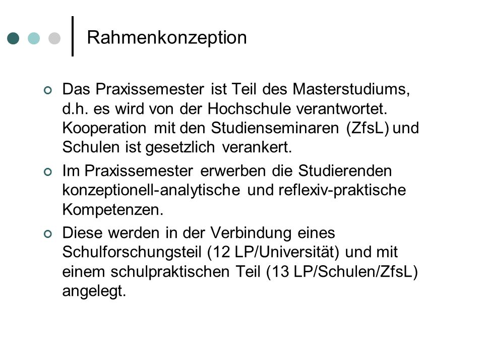 Rahmenkonzeption