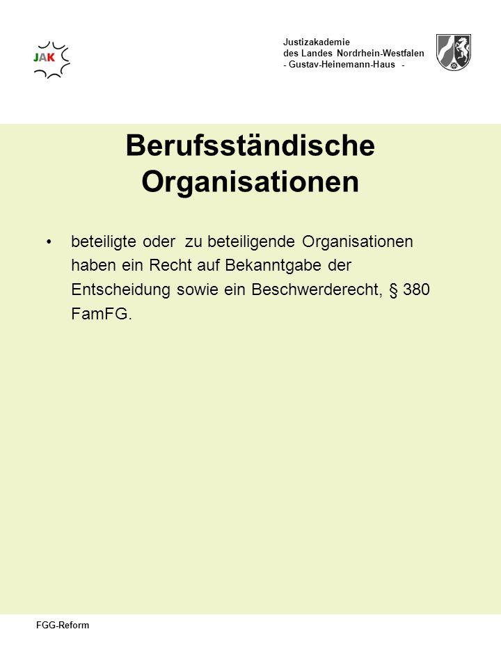 Berufsständische Organisationen