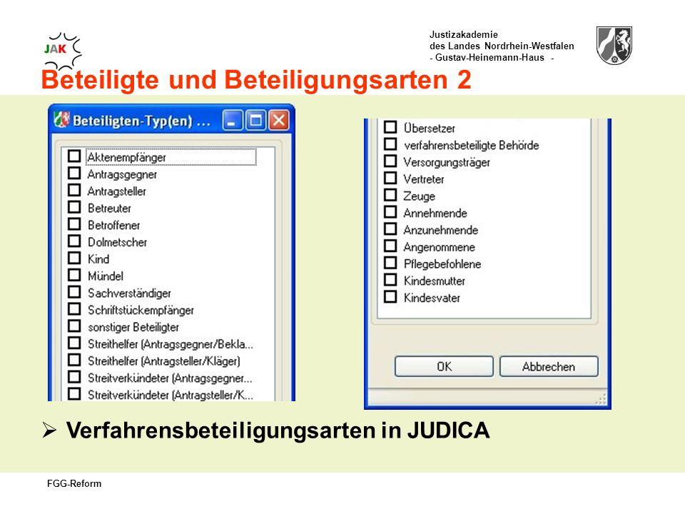 Beteiligte und Beteiligungsarten 2
