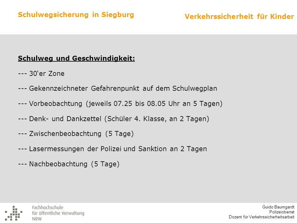 Schulwegsicherung in Siegburg
