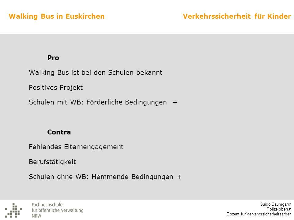 Walking Bus in Euskirchen