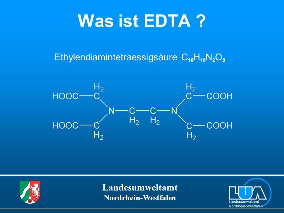 Ethylendiamintetraessigsäure C10H16N2O8