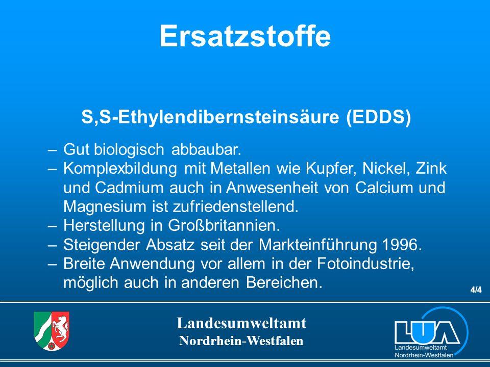 S,S-Ethylendibernsteinsäure (EDDS)