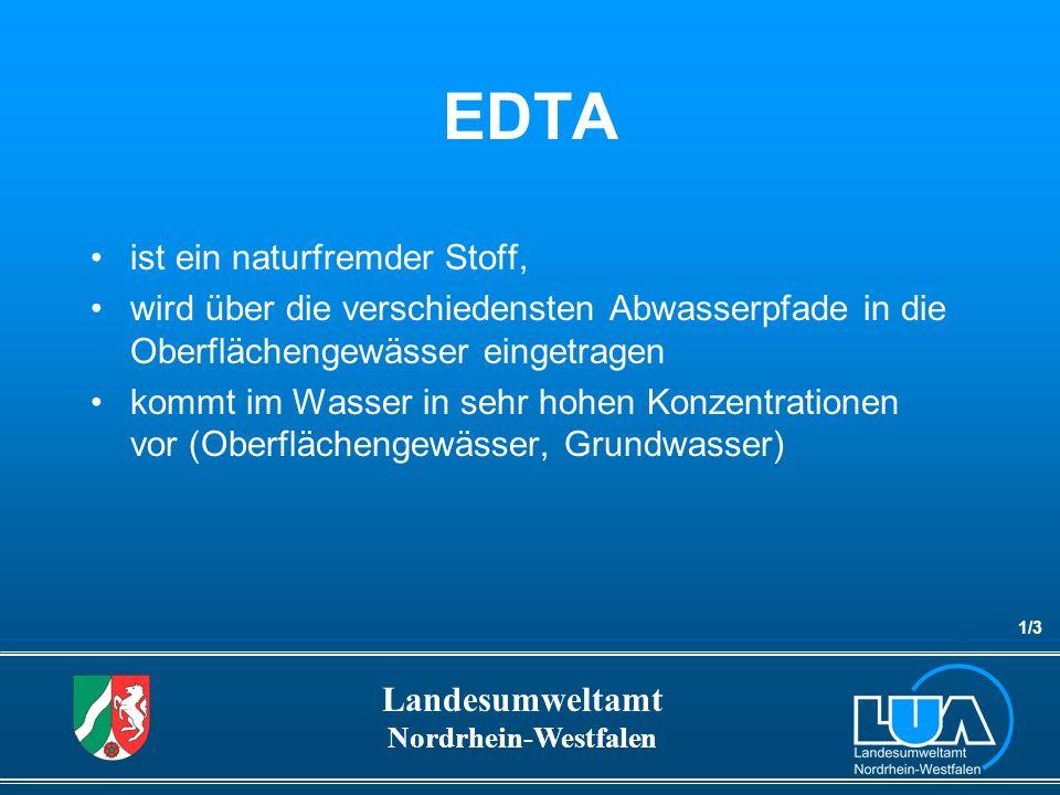 EDTA ist ein naturfremder Stoff,