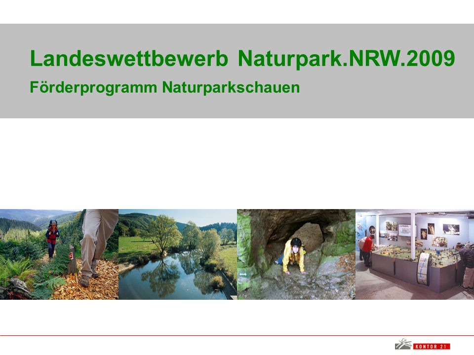 Landeswettbewerb Naturpark.NRW.2009