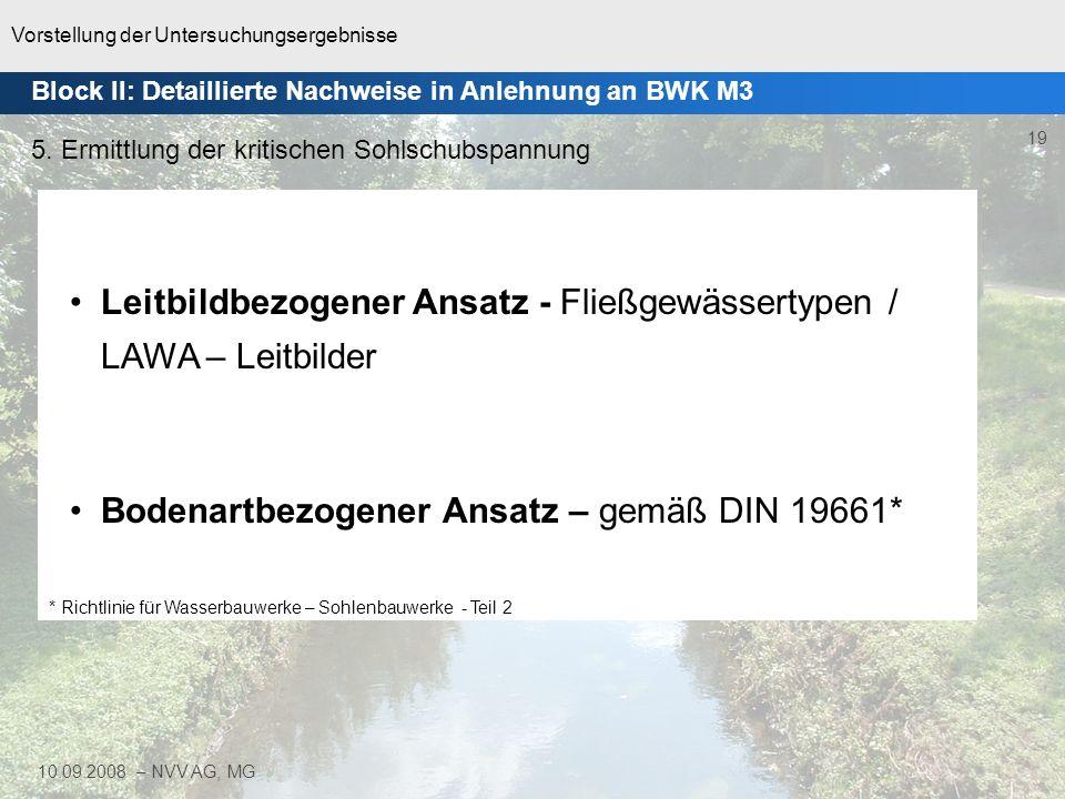 Leitbildbezogener Ansatz - Fließgewässertypen / LAWA – Leitbilder