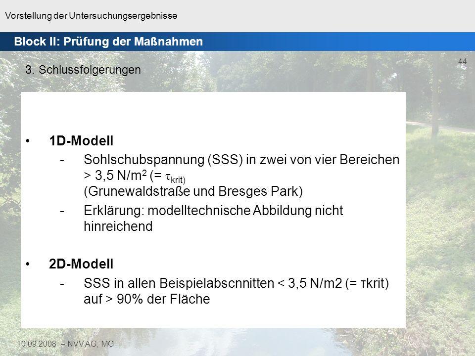 Erklärung: modelltechnische Abbildung nicht hinreichend
