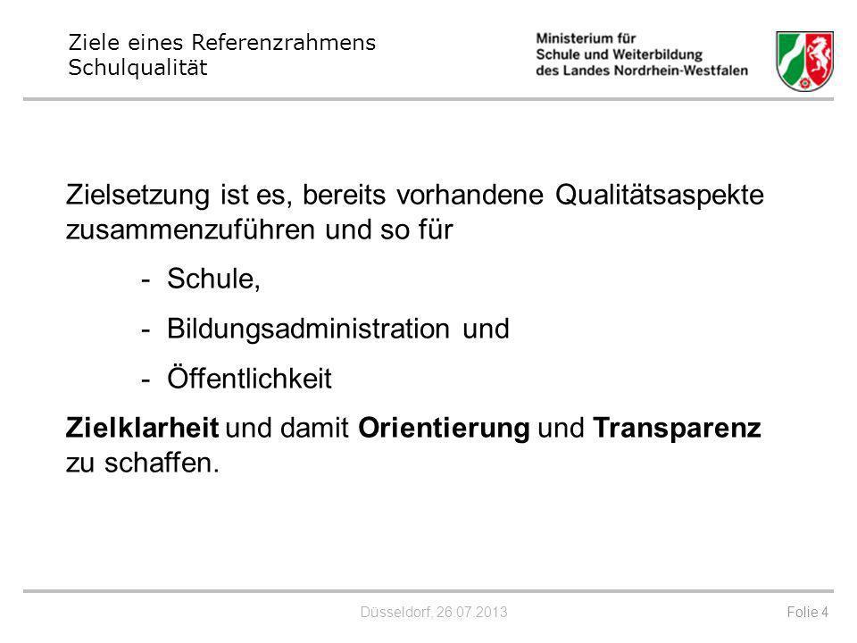 - Bildungsadministration und Öffentlichkeit