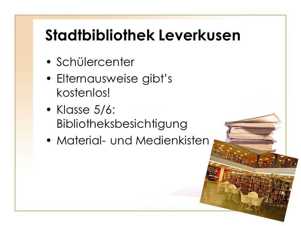 Stadtbibliothek Leverkusen