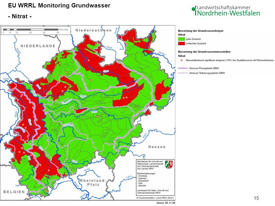 EU WRRL Monitoring Grundwasser
