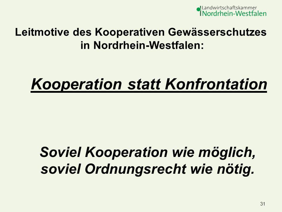 Kooperation statt Konfrontation