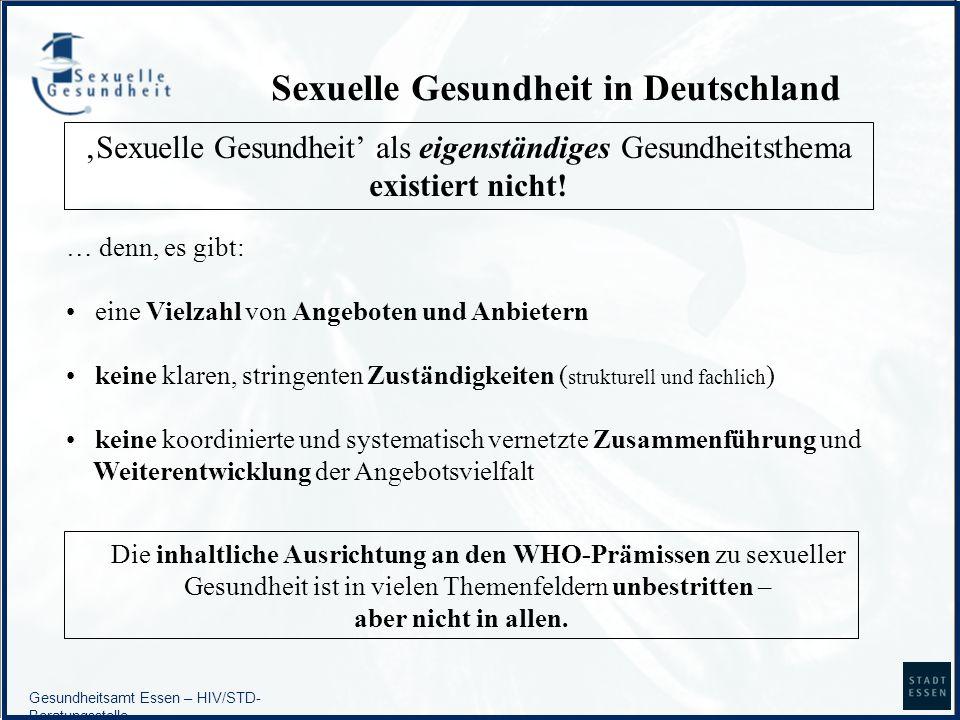 Sexuelle Gesundheit in Deutschland