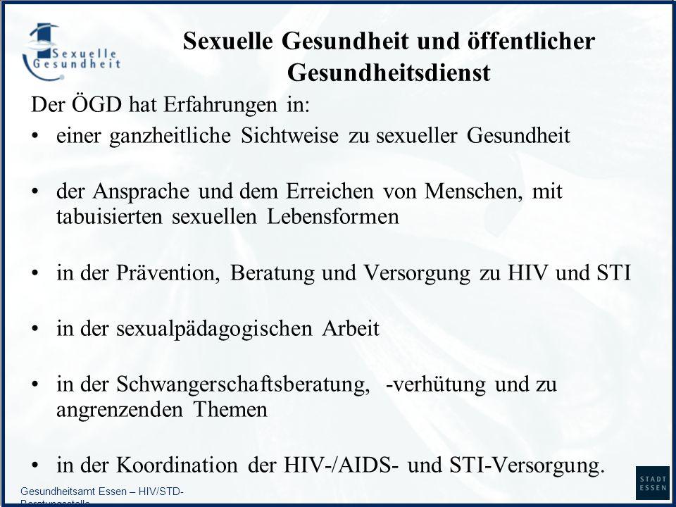 Sexuelle Gesundheit und öffentlicher Gesundheitsdienst