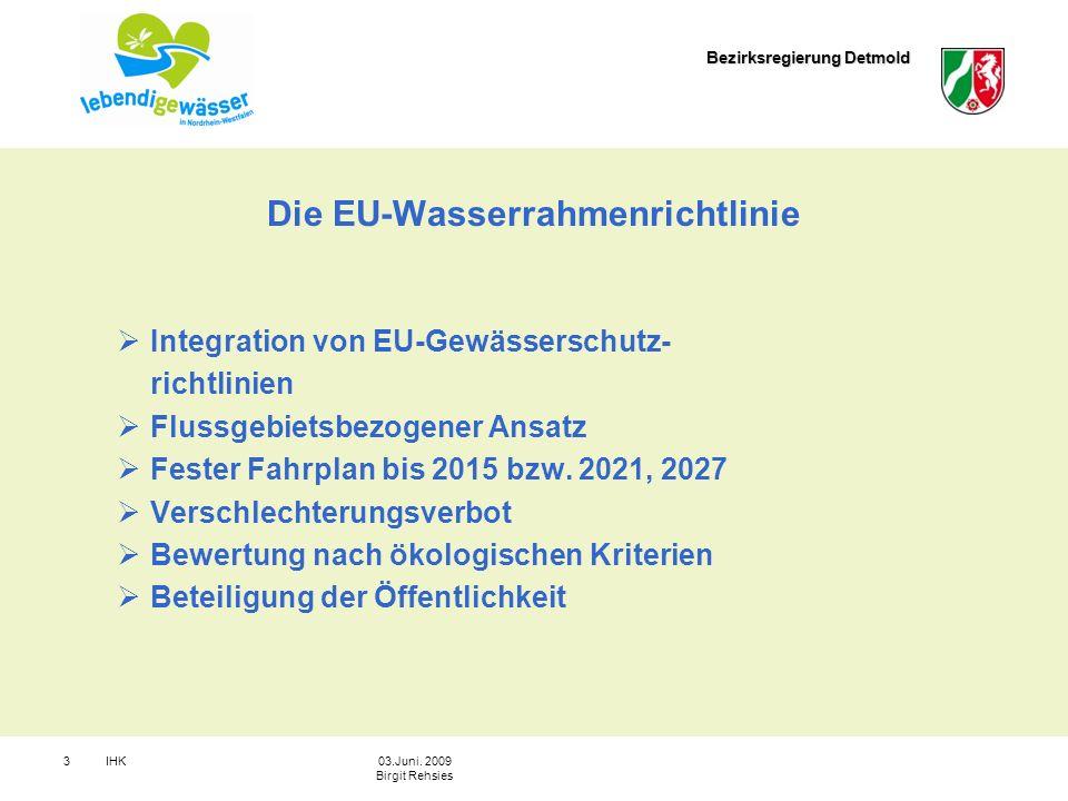 Die EU-Wasserrahmenrichtlinie