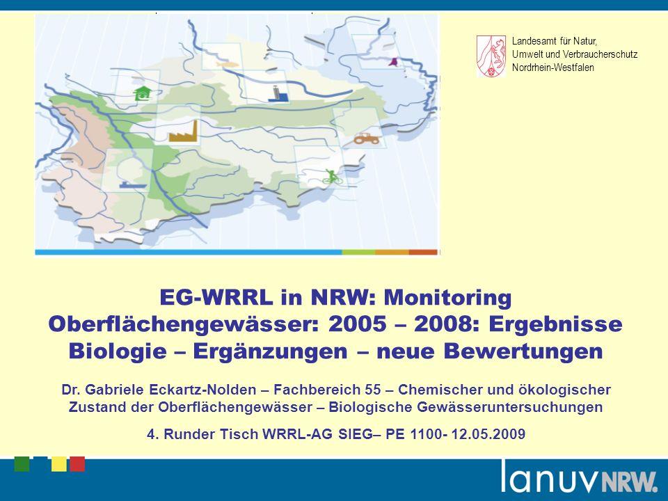 4. Runder Tisch WRRL-AG SIEG– PE 1100- 12.05.2009
