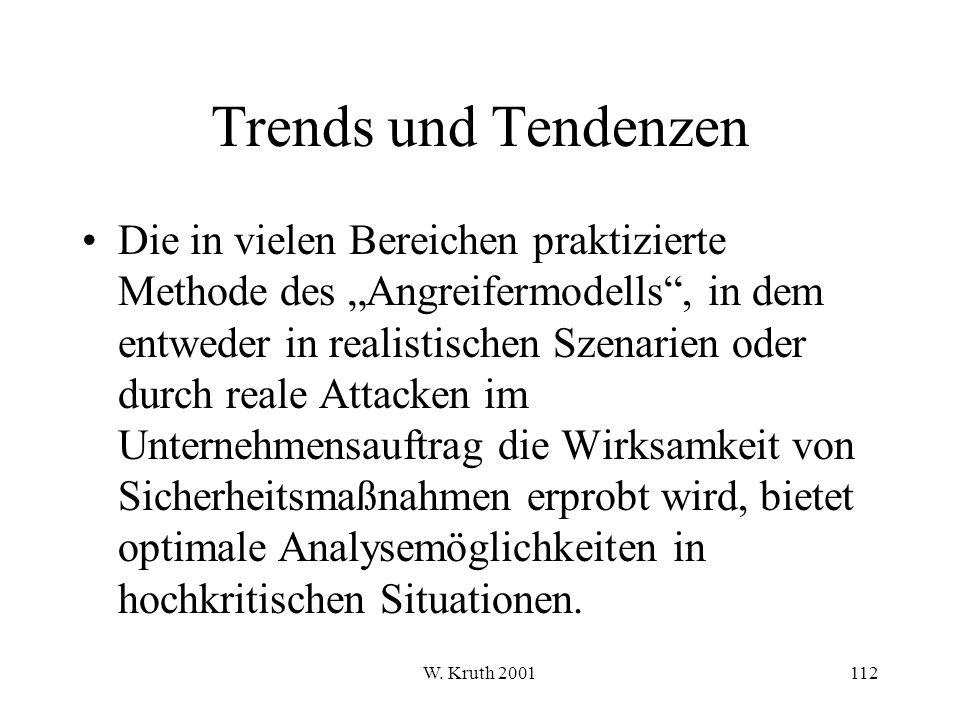 Trends und Tendenzen