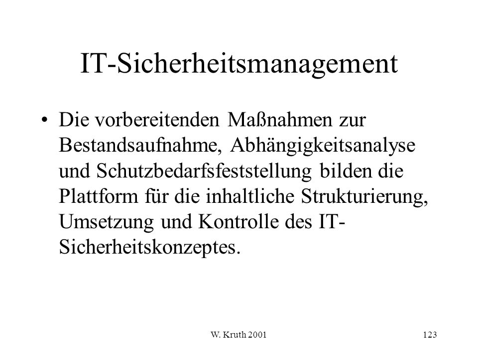 IT-Sicherheitsmanagement