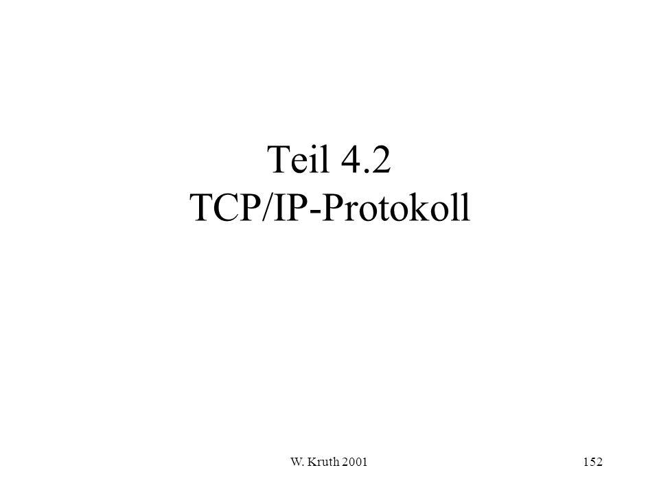 Teil 4.2 TCP/IP-Protokoll